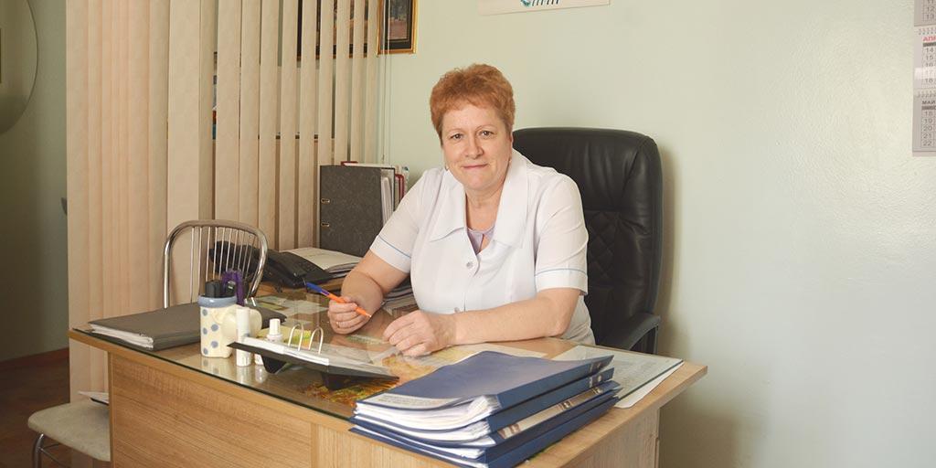 Зам.главного врача по мед. части Валуйских Тамара Петровна